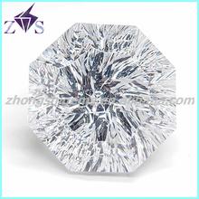 Polygon Cut Handmade Gemstone CZ