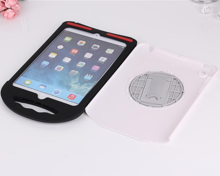 2 in 1 silicone case for iPad Mini , EVA Case for iPad Mini pc+silicon