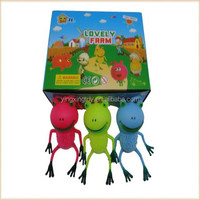 2015 colourful flashing light bouncing puffer toy ball