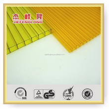 Lexan plastic material colored polycarbonate sheet cellular roofing sheet skylight polycarbonate clear awnings