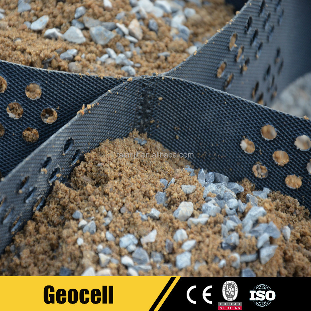 Hdpe Plastic Grass Protection Mesh Gravel Stabilizer