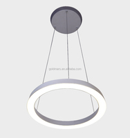 Modern decorative LED aluminum pendant light&circular pendant lamp CE RoHS 85-265V 2years warranty