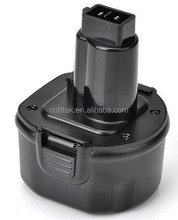 Replacement Dewalt power tool battery for Cordless Drill battery 9.6V DE9036, DE9061,DE9062, DW9061,DW9062