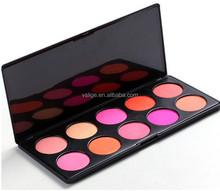 Branded 10 colors makeup palette mineral blush palette