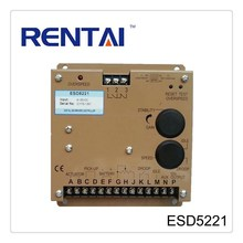 10 Amp Relay Output 8-35VDC ESD5221 Motor Speed Controller For Generator