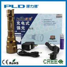 18650 T6 10w streamlight torch flashlight