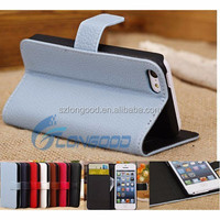 New Style Mobile Phone Protective Leather Flip Case For iPhone 5, Smart Cover Case For iPhone 5C