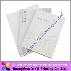 High Quality Printing Magazine/Book with gold foil printing
