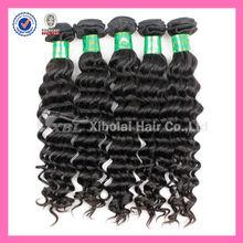 XBL Virgin 5A Hair Factory Wholesale Loose Deep Wave Hair Bulk