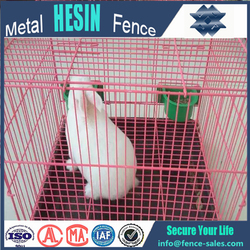 factory supply 32'' pink Crate cages for lovely rabbit