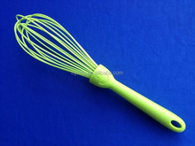 silicone plastic handle egg whisk