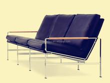 classic design Genuine leather FK 6720 sofa