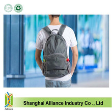 Gray Waterproof Foldable Travel Hiking Camping Storage Backpack on sale