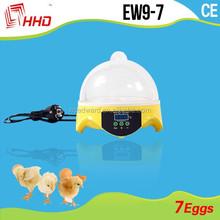 bambino incubatore più caldi professionale mini digitale uovo di gallina incubatore hatcher rifornimento della fabbrica 7 pz automatico uovo incubatore