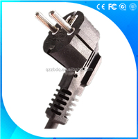 3 pin VDE European standard power supply cord