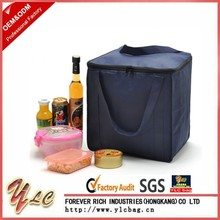 Outdoor Insulated Picnic Cooler Bags Non-woven Fabric Lunch Bag