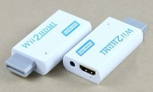 Wii to HDMI 720P / 1080P Converter HD Output Upscaling Video Audio Adapter - Supports All Wii Display Modes