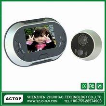 video peephole door camera with lcd screen