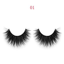 Natural Luxury environmental 3D silk faux mink false eyelashes