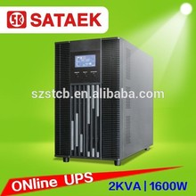 stcb ad alta frequenza on line up batteria di backup portatile 2 kva