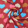 la belleza del corazón patrón caliente venta de tela para los vestidos de niña