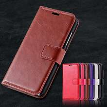 N630 Vintage Luxury Crazy Horse PU Leather Case For Nokia Lumia 630 635 N630 N635 Flip Case Stand Wallet Po Frame Cover in stock
