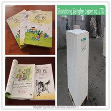 The price is favorable uncoated Woodfree Offset Printing Paper 70gms