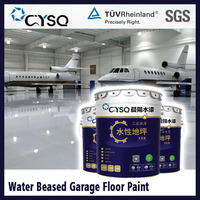 Water based epoxy cheap garage floor coating