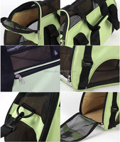 Eco-friendly Travel pet carry bag Ventilated waterproof outdoor pet carry bag Lightweight fabric pet carrier bag