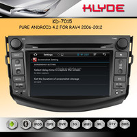 2014 New Digital Screen car audio entertainment with pure android gps player for rav4 2008-2011 WITH SD USB