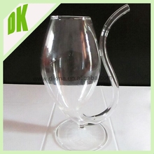 100% Made in the CHINA , 100% refund the value of broken piece , wholesale Vampire wine glass sippy cup