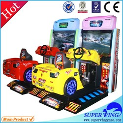 Cheap indoor entertainment racing car game machine equipment