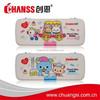 Heat Transfer Print Plastic Pencil Case CS-3016