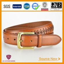 New Arrived Handmade Customized Western Leather Braided Belt for Men fashion belt china
