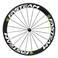Fasteam 50mm Clincher Carbon Wheels 700C Road Bike Wheelset T700 Carbon Road Wheels