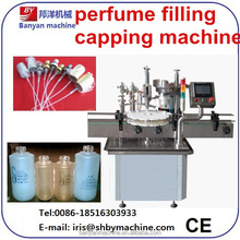 best quality promotional auto updated body spray filling machine/0086-18516303933