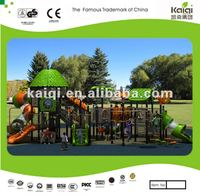 Updated KAIQI Plastic structure playground, plastic outdoor play structure, well made play structure
