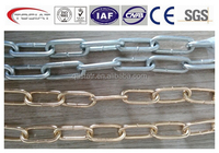 long link chain unwelded hanging chain decorative chain