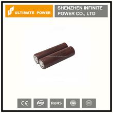 2015 hot selling new in stock original lg hg2 18650 3000mah 3.7v li-ion battery 20a high drain lithium battery flat top