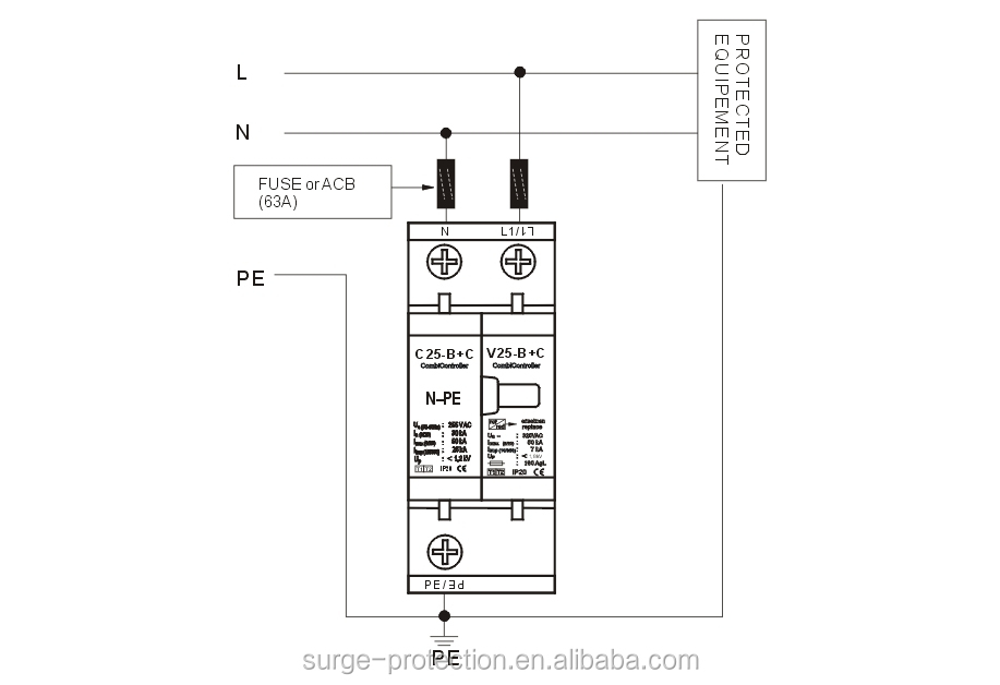 surge protector wiring diagram wiring diagram and hernes surge protection device wiring diagram wirdig
