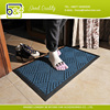 High quality rubber edge anti-slip doormat for home entrance use
