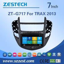 800mhz car multimedia for Chevrolet TRAX 2013 2 din car radio gps navigation ATV BT rds