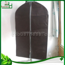 Factory hot sell plain non woven mens suit cover / garment bag