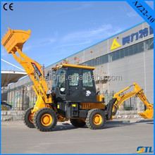 China mini tractor loader backhoe with 1200kg with CE