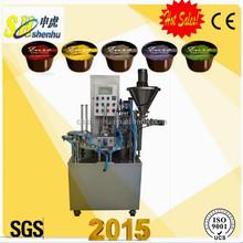 2015 new hot full auto coffee capsule filling machine