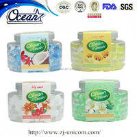 160g water beads air freshener fragrances/scented flower air freshener/eco fresh air freshener