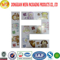 WESTERN constellations cute paper card stickers for promotional gifts with instant noodles