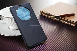 Luxury classic smart Flip leather back cover for LG Optimus G3 D850 case
