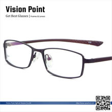 metal with TR90 temple men optical glasses frame