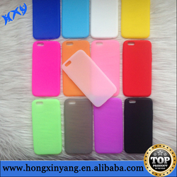Silicone case for iPhone 6,for Phone 6 case,soft cover case plain silicone for iPhone 6 4.7 inch